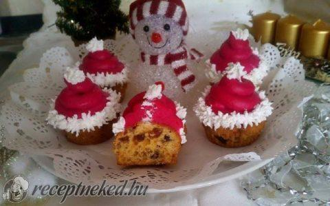 Püspökkenyér muffin