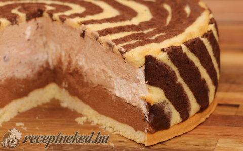 Csoki-gesztenyemousse torta