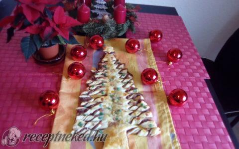 Mogyorókrémes karácsonyfa
