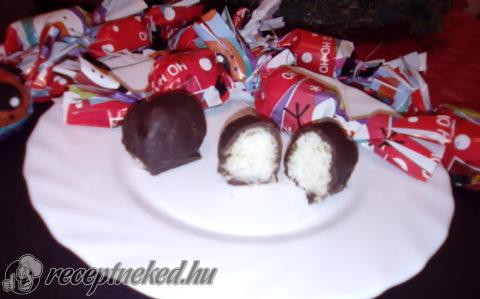 Fehércsokis-bounty szaloncukor