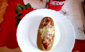 Sült hot dog