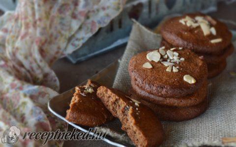 Paleo karamellás keksz