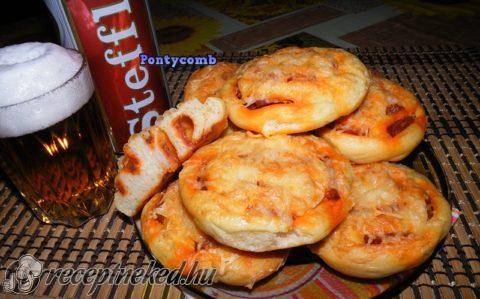 Kolbászos-krumplis csiga