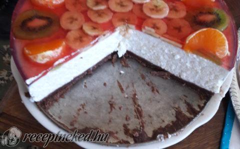 Tejszínes, gyümölcsös rizstorta