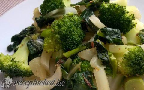 Mángoldos-brokkolis subji