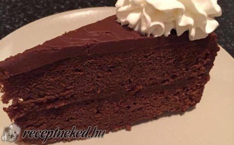 Sacher torta Eta módra