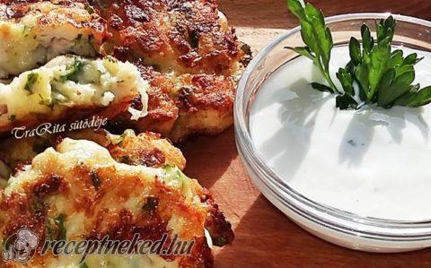 Mozzarellás csirkemell