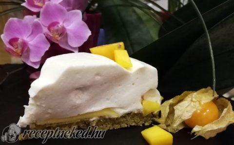 Kókuszos-mangós torta