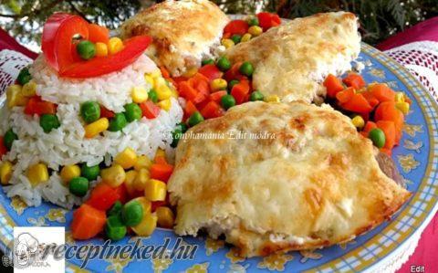 Mustáros–tejfölös csirkecomb