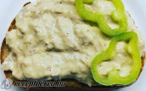 Joghurtos-majonézes tonhalkrém