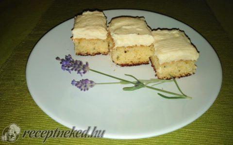 Vaníliás-levendula kocka