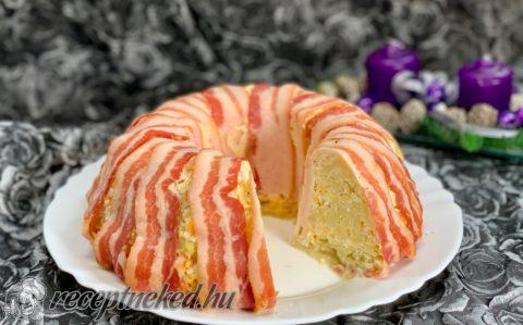 Baconos krumplikoszorú