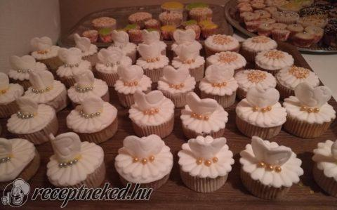 Menyasszonyi csokis-meggyes muffin