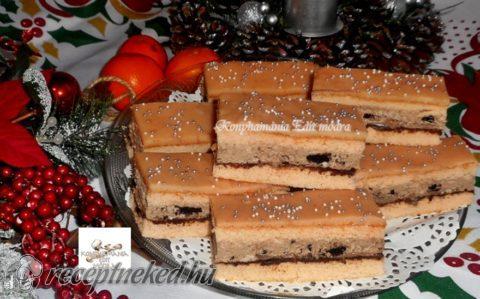 Rumpuncsos szelet oreó kekszes krémmel