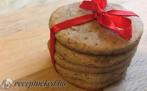 Gluténmentes vaníliás keksz