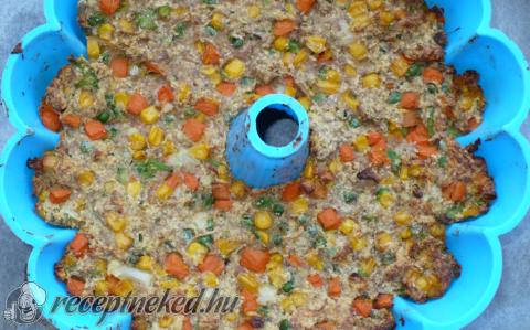 Húskuglóf kertészlány módra