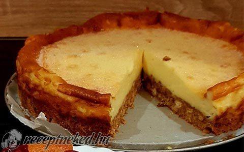 Egyszerű sajttorta