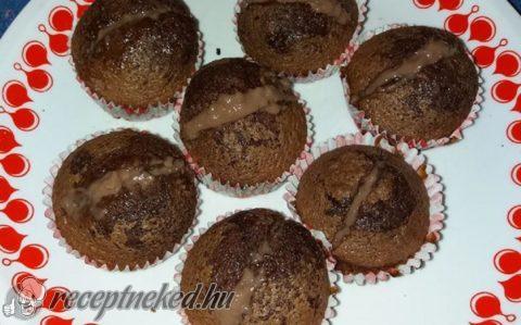 Töltelékes muffin