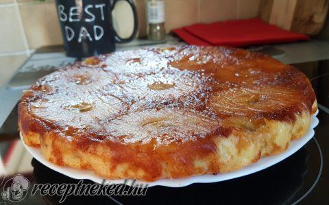 Fordított ananász torta