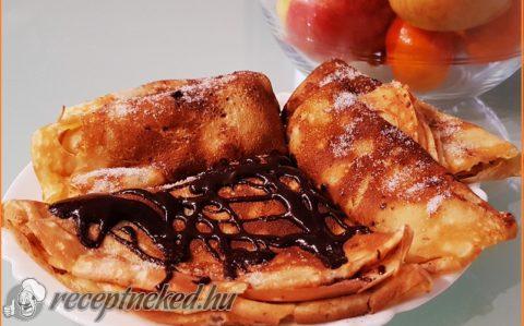 Illatos palacsinta (almás-citromos)