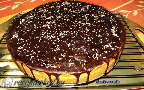 Csokoládés-sütőtökös pite