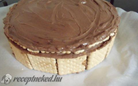 Epres, kekszes torta