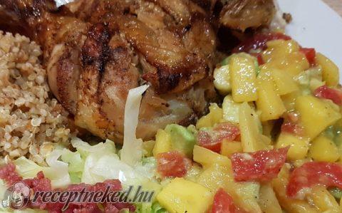 Citromos csirke mangósalátával