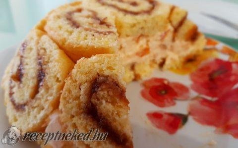 Kajszibarackos charlotte torta