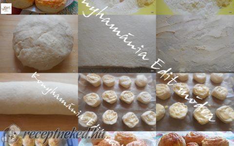 Duplán sajtos csiga