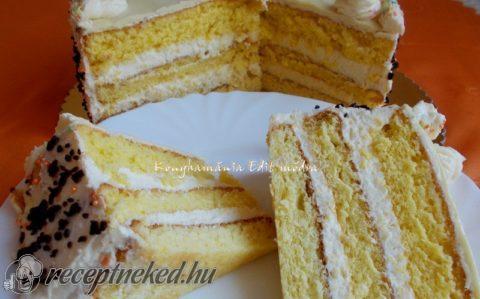 Citromkrémes torta