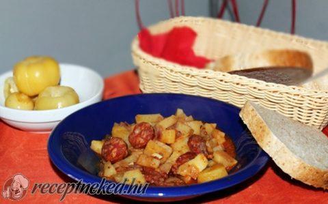 Krumplipaprikás magyarosan