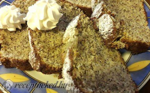 Citromos-mákos sütemény