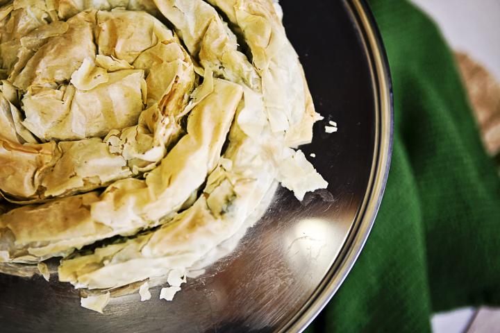 Totus spenótos burek recept IldikoEsAnita konyhájából