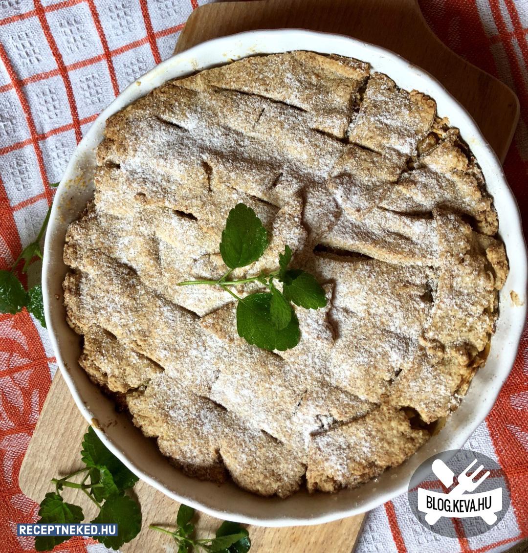 Almás pite tojás nélkül recept birosari konyhájából